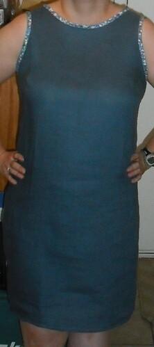 laurel dress - finished