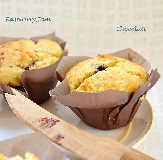 Happy Surprise Muffins