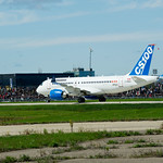 Bombardier C-Series First Flight