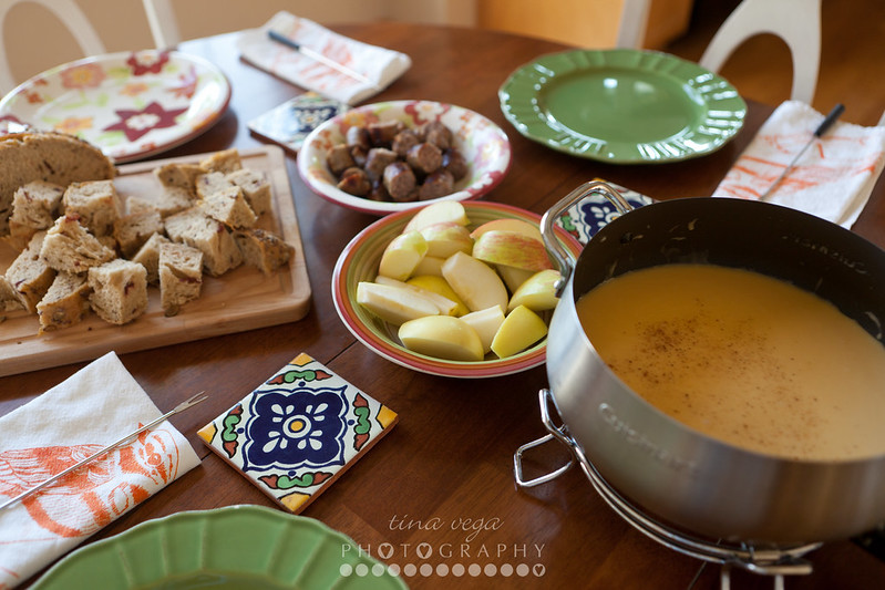autumn cheese fondue // © Tina Vega Photography
