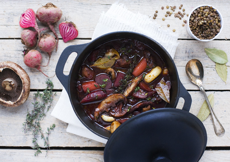 Beet Bourguignon on Food52