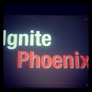 Getting ready for #IgnitePHX - Good times, for sure!