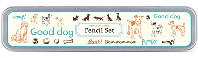 vintage_dogs_pencil_set_cavallini