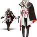 Small photo of Assassin 's Creed Altair spel cosplay kostym