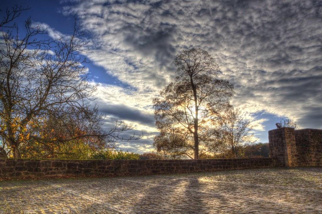 Schloss Iburg in Autumn 10