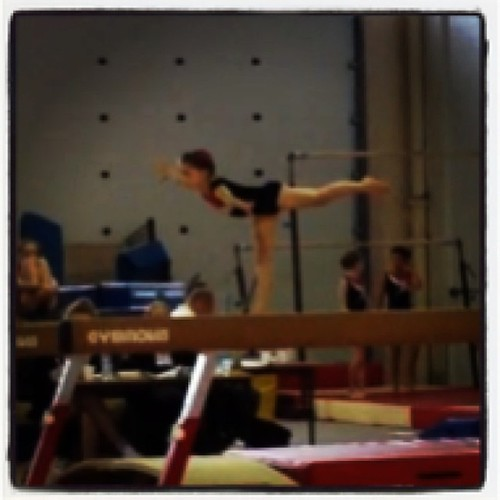 Go Josie! Stuck the whole beam routine!