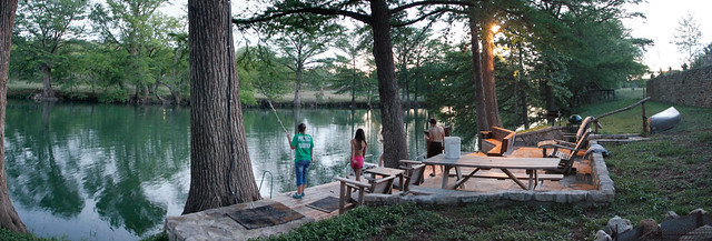 Evening by the River @ riverruncabin.com
