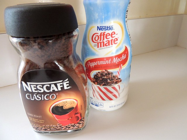 #loveyourcup #shop #cbias Nescafe Clasico and Coffeemate Peppermint Mocha
