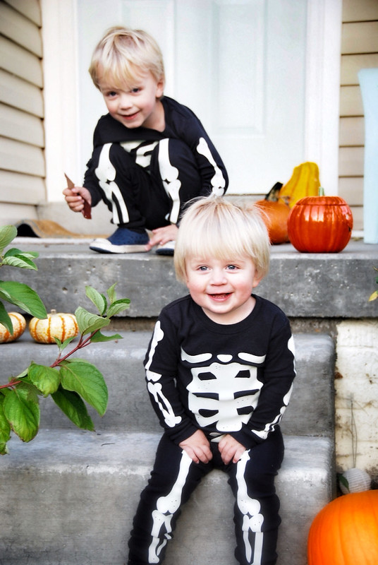 carters skeleton pajamas