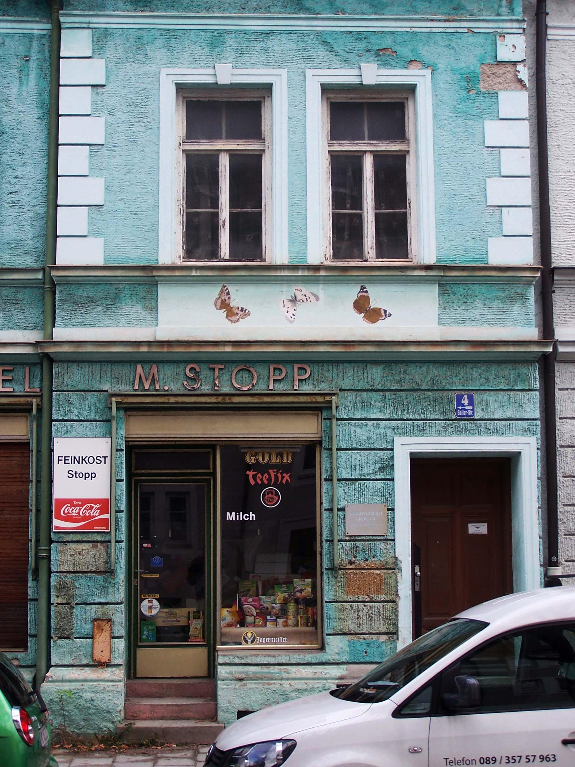 Feinkost M. Stopp, Sailerstraße