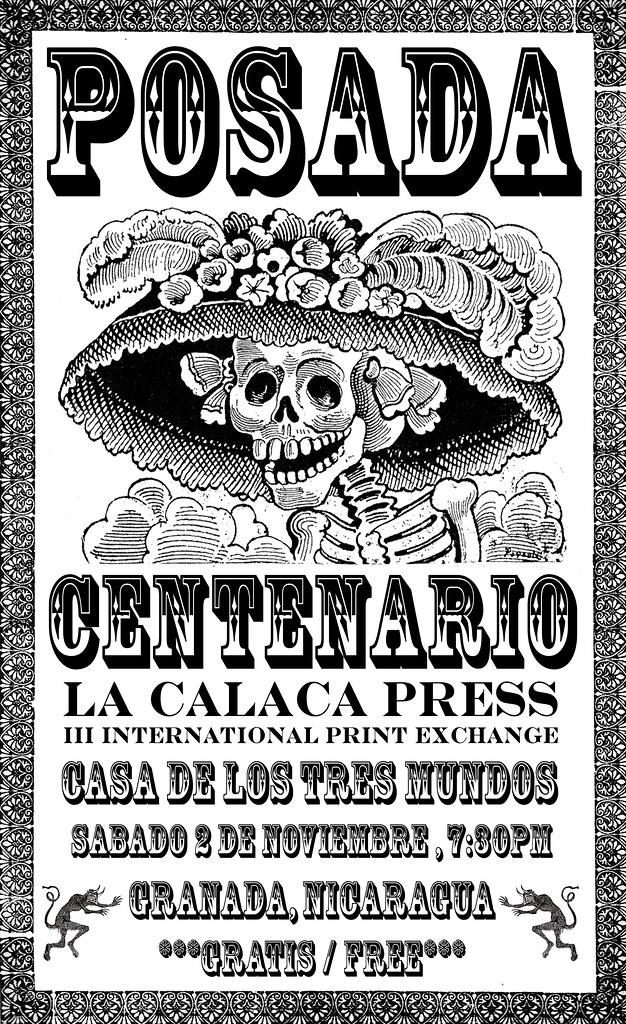 Poster Calaca III Nicaragua