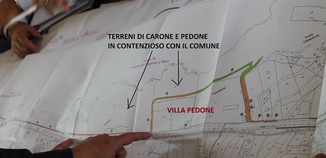 Il tratto evidenziato corrisponde alla pista ciclabile pedone polignan - Copia