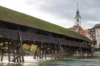 Wooden Olten Bridge
