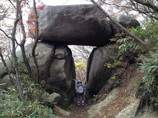 国見岳 石門