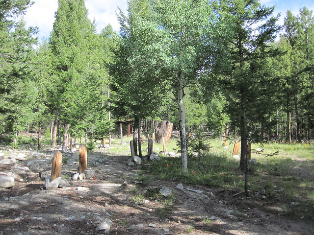 Picture from the Alpine, Colorado Cemetery