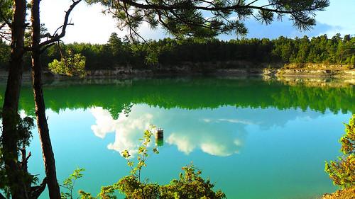 Blå Lagunen - Kalkbrott/Blue Lagoon - Limestone Quarry