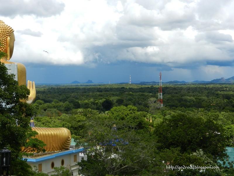 Центр Шри Ланки, Храм Дамбулла