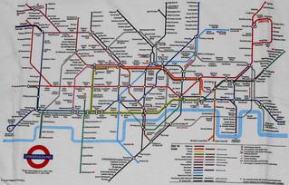 London - Underground Map Shirt (1994)