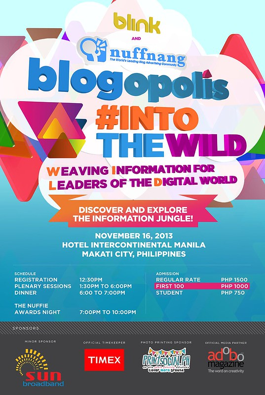 Blogopolis Into The Wild Poster