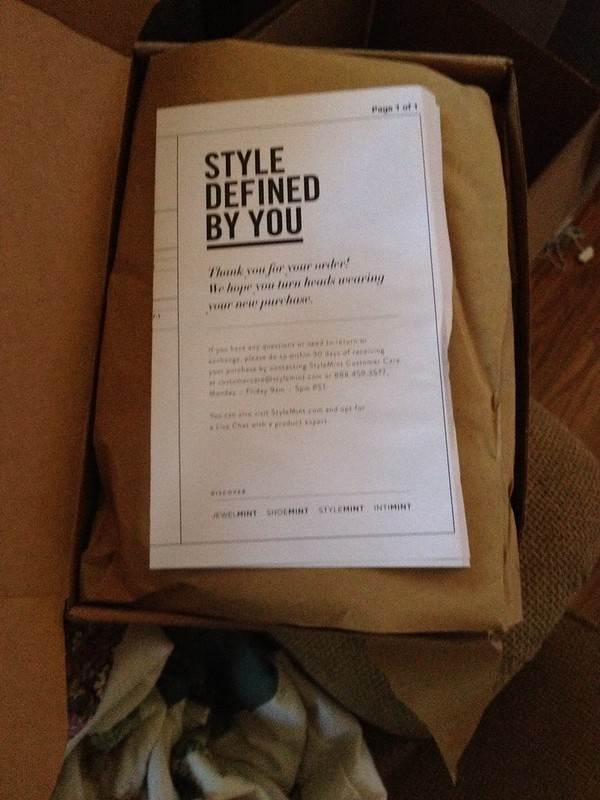 StyleMint Mystery Unboxing