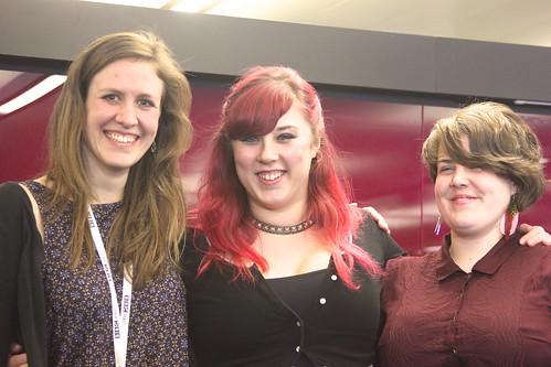 Becky, Rosie, Jasmine - The R&D girls
