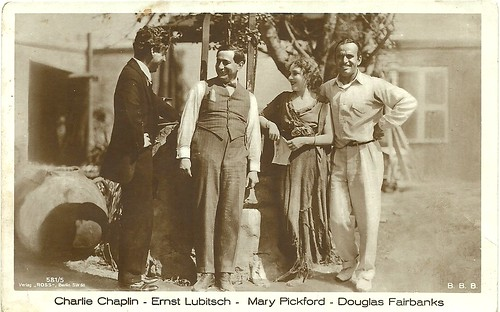 Charlie Chaplin, Ernst Lubitsch, Mary Pickford, Douglas Fairbanks