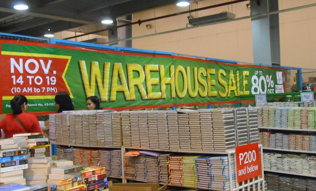 NBS Warehouse sale 2013