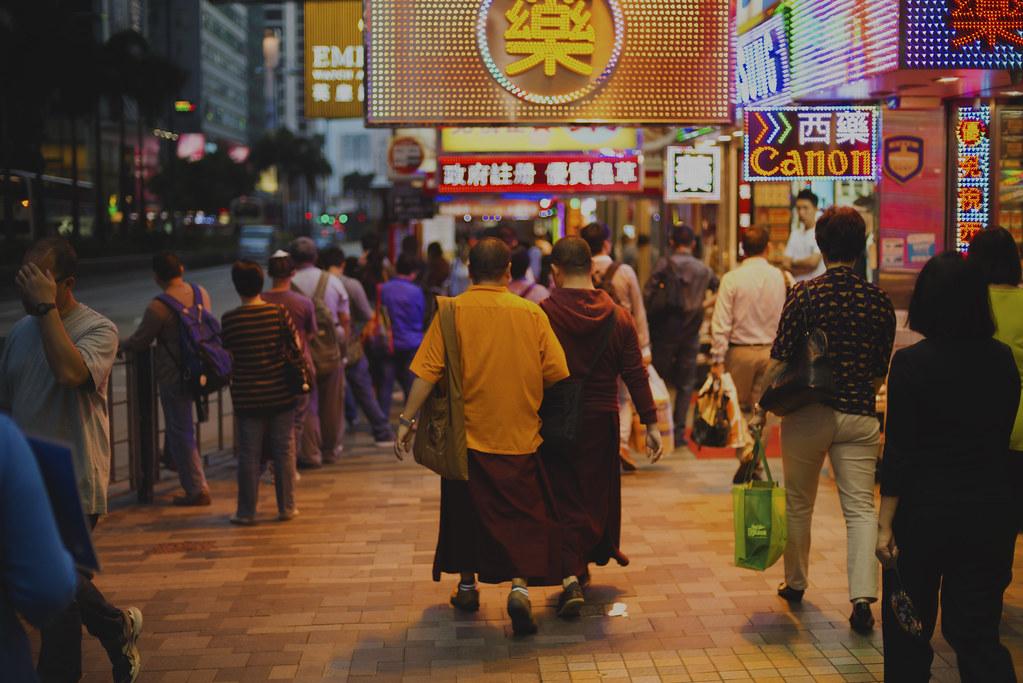 Kowloon Monks Canonising