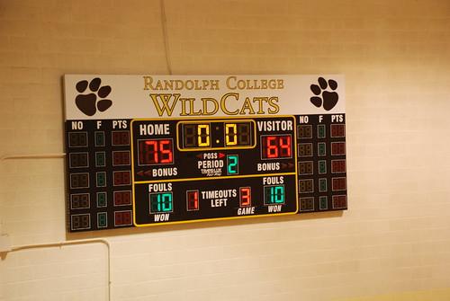 Final: Randolph 75, Frostburg State 64 (OT)