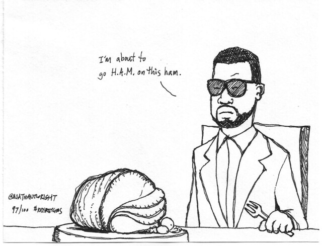 Kanye at Thanksgiving
