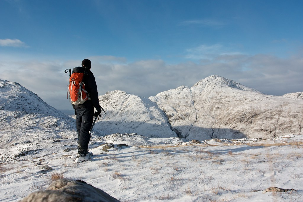 Winter walking in Ardgour
