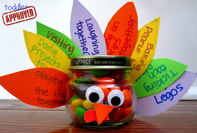 Recycled Baby Food Jar Turkey