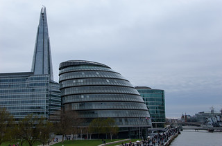 La tour The Shard et le City Hall Building