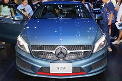 Mercedes A 250 AMG Sport at the 30th Thailand International Motor Expo 2013