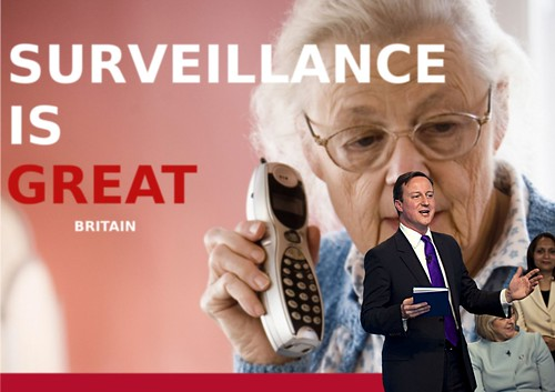 Surveillance IS GREAT BRITAIN - David Cameron gives keynote address by Teacher Dude's BBQ