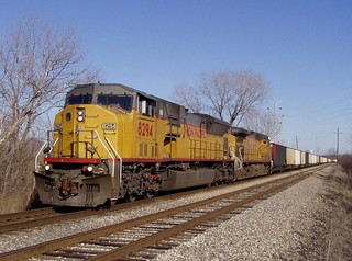SD9043 on coal!