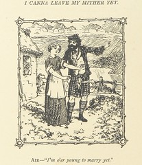 Image taken from page 148 of 'Mistura Curiosa. Being a higgledy-piggledy of Scotch, Irish, English, Nigger ... comic, serious and sentimental odds & ends of rhymes and fables ... With illustrations by Charles A. Doyle and John Smart'