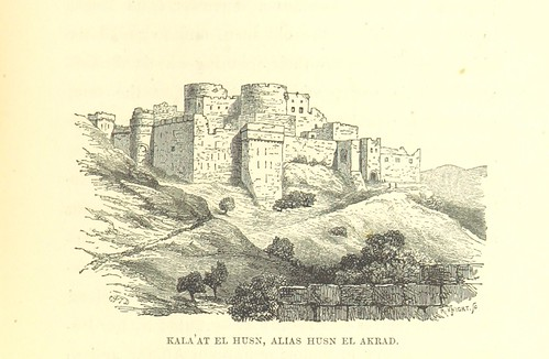 Image taken from page 173 of 'Unexplored Syria. Visits to the Libanus, the Tulúl el Safā, the Anti-Libanus, the Northern Libanus, and the Aláh. By R. F. Burton and Charles F. Tyrwhitt Drake. [With contributions by Isabel Lady Burton and others.]'
