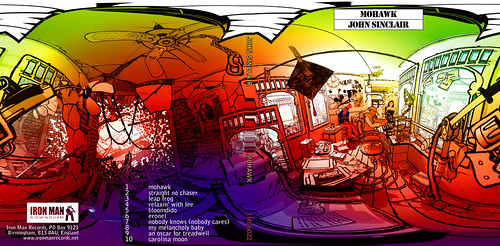 John Sinclair - Mohawk CD Gatefold back