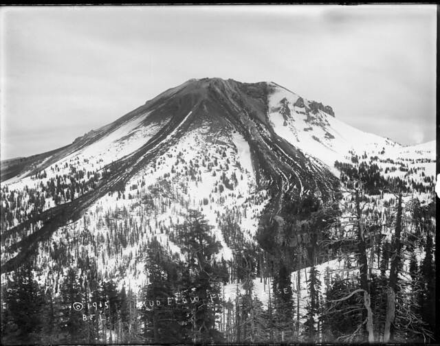 Lava flow from Lassen Peak