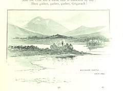 "British Library digitised image from page 111 of ""'Mountain, Moor and Loch' illustrated by pen and pencil, on the route of the West Highland Railway"""