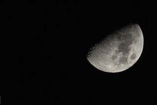 Tonights moon.
