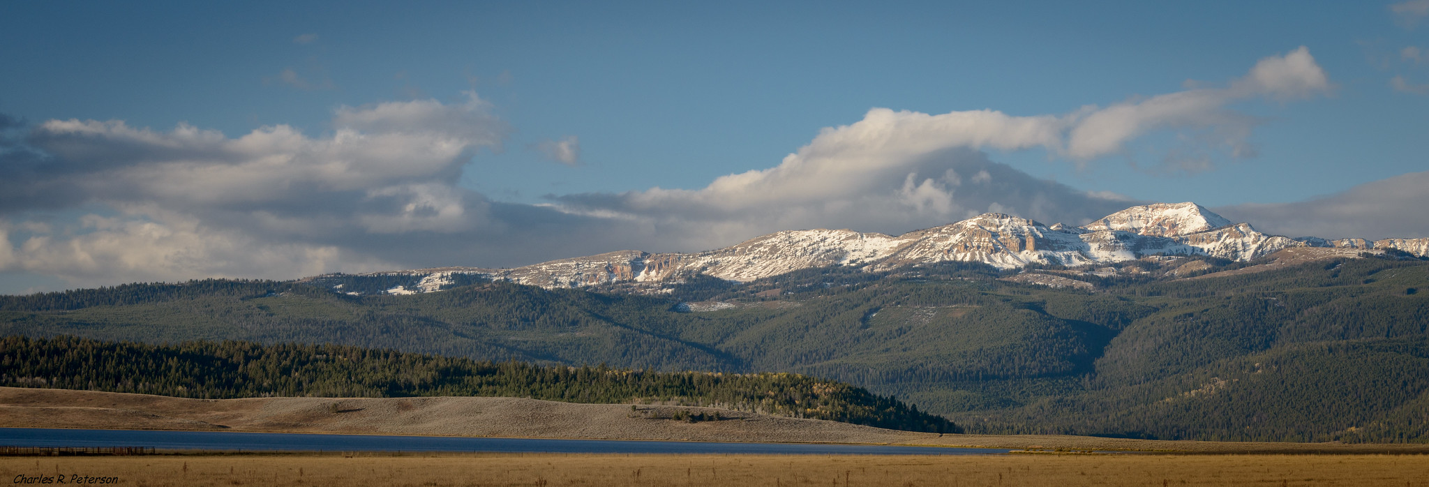 Centennial Mountain Range - Montana by Charles (Chuck) Peterson, on Flickr