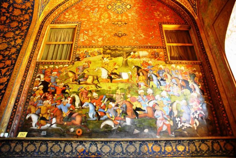 59 Palacio de Chehel Sotun o de las 40 columnas en Isfahan (15)
