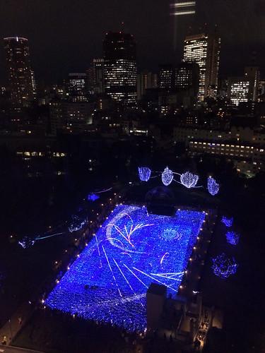 東京ミッドタウンのクリスマスイルミネーション2013