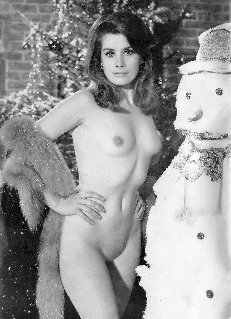 Something and Vintage nude christmas girls