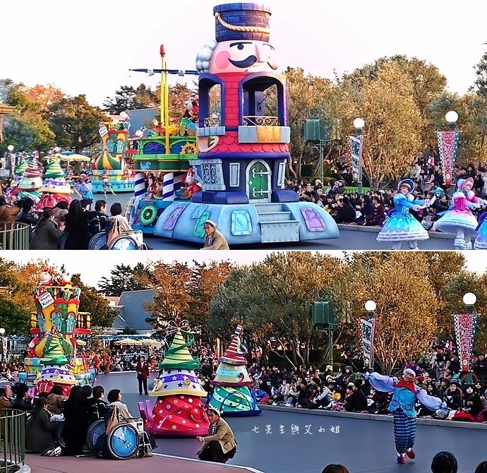 19 迪士尼聖誕村大遊行幸福在這裡夢之光大遊行