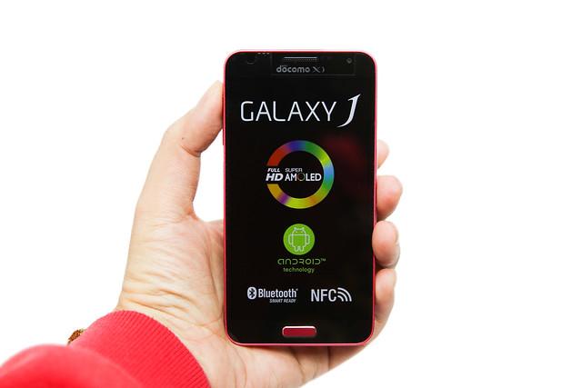 日系血統附身!日版 Samsung GALAXY J (Docomo X SC-02F) @3C 達人廖阿輝