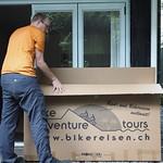 So, 29.12.13 - 09:14 - Bike auspacken und montieren