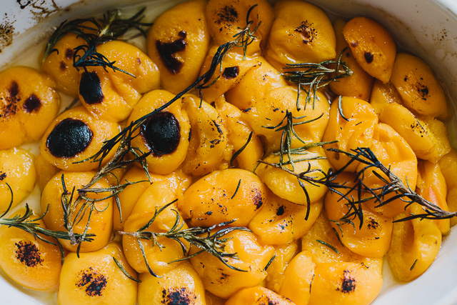 Cool Crostini Rosemary Poached Apricot Wine Poached